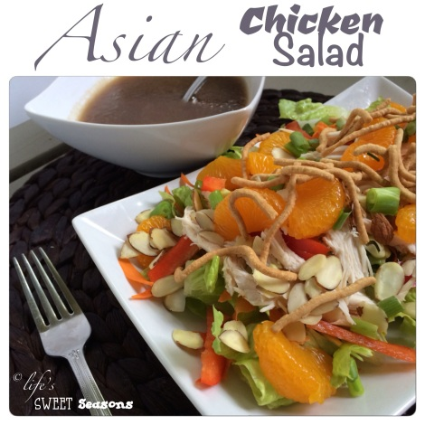 Asian Chicken Salad 1
