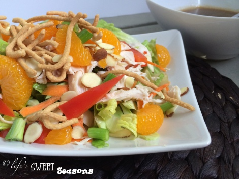 Asian Chicken Salad 3