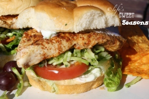 Baja Chicken Slider