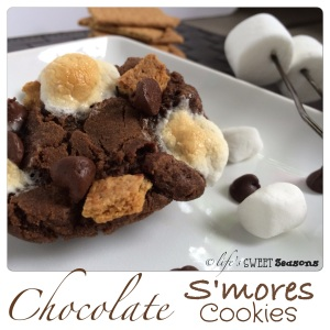 Chocolate Smore Cookies2