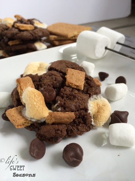 Chocolate Smores Cookies 3
