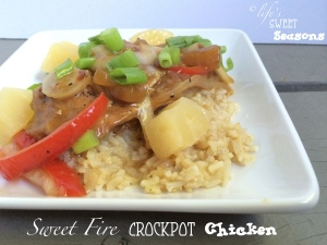 Sweet Fire Crockpot Chicken