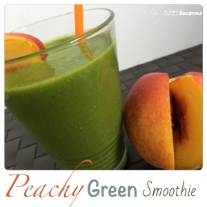 Peachy Green Smoothie1