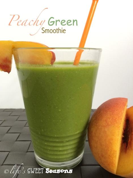Peachy Green Smoothie2