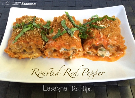 Roasted Red Pepper Lasagna Roll-Ups2