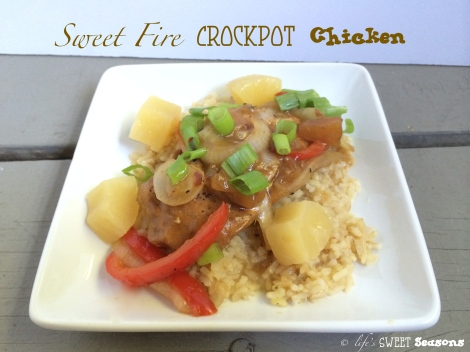 Sweet Fire Crockpot Chicken 2