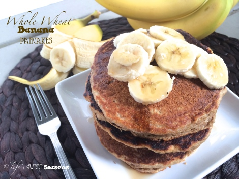 Whole Wheat Banana Pancakes 3