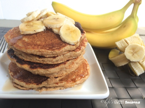 Whole Wheat Banana Pancakes2