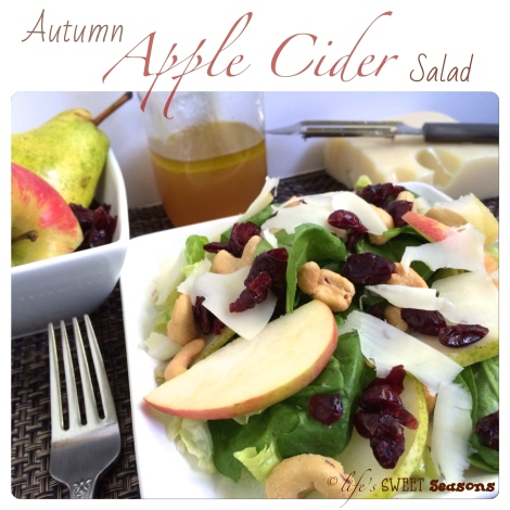 Autumn Apple Cider Salad 1