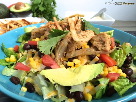 Chipotle Chicken Salad 3