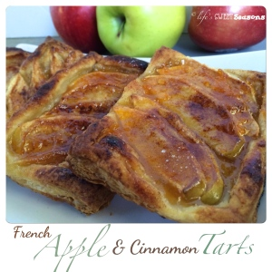 French Apple & Cinnamon Tart 2