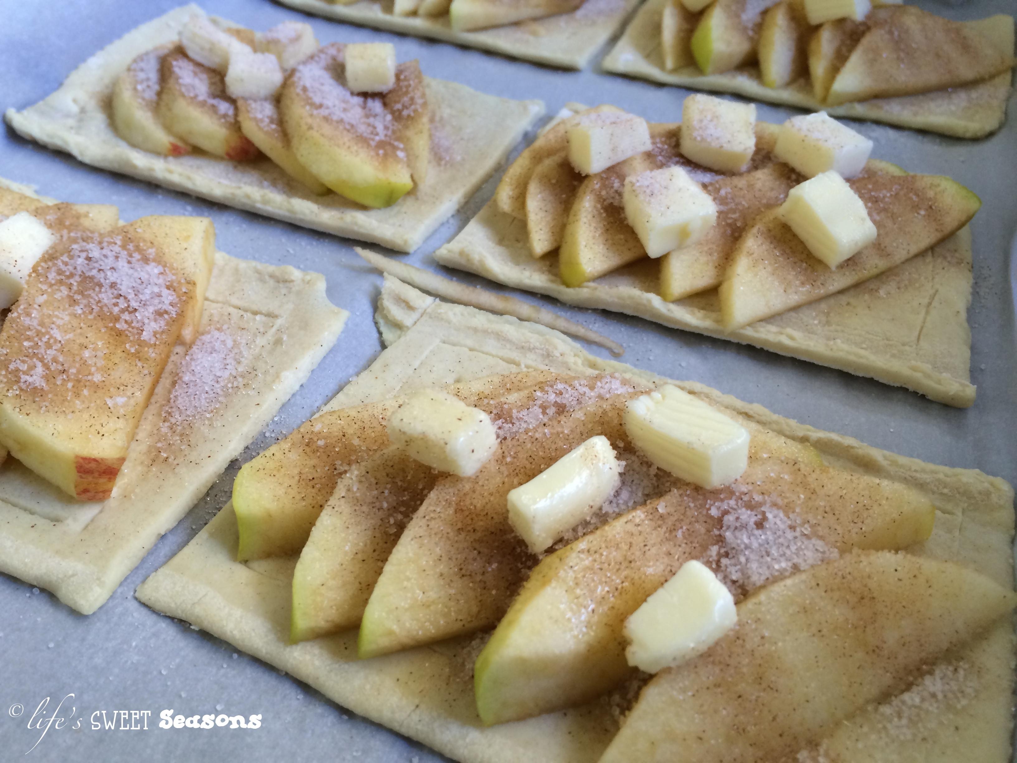 French Apple Cinnamon Tarts Life 39 S Sweet Seasons