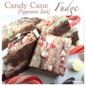 Candy Cane Fudge 1