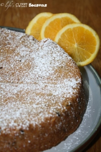 Orange Cranberry Whole Cake blog