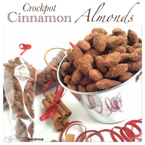 Cinnamon Crockpot Almonds 1
