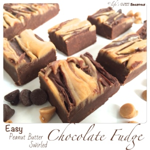 Peanut Butter Swirled Fudge 3
