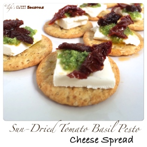Sun-Dried Tomato Pesto Cheese Spread 3