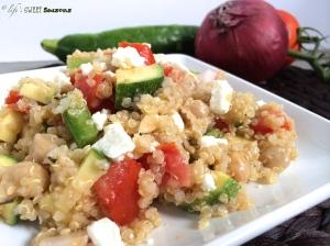 Greek Quinoa Salad 2