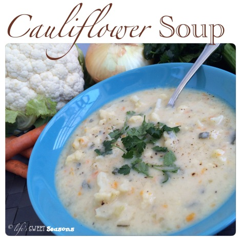 Cauliflower Soup 1