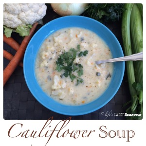 Cauliflower Soup 4