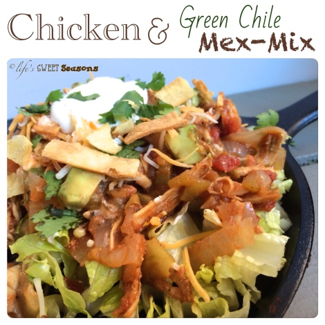 Chicken & Green Chile Mex-Mix 1