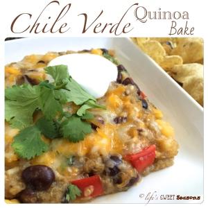 Chile Verde Quinoa Bake 1