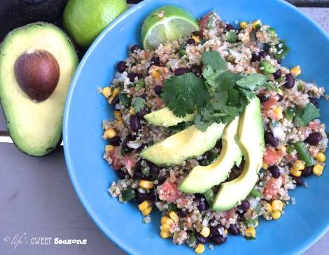Fresh Mex Quinoa Salad 2