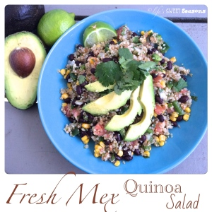 Fresh Mex Quinoa Salad 3