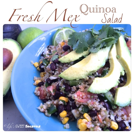 Fresh Mex Quinoa Salad