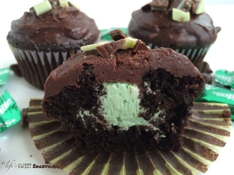 Mint Chocolate Cupcakes 2