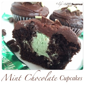 Mint Chocolate Cupcakes 4