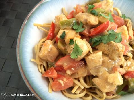 Ree's Cajun Chicken Pasta 2