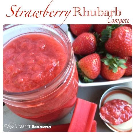 Strawberry Rhubarb Compote 1