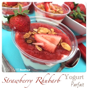 Strawberry Rhubarb Yogurt Parfait 2