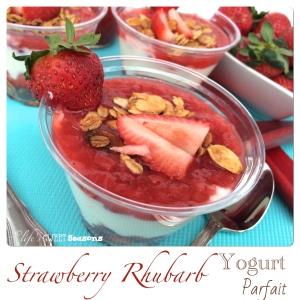 Strawberry Rhubarb Yogurt Parfait 2