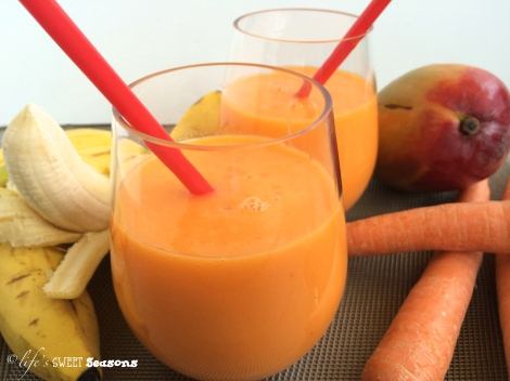 Carrot Mango Smoothie 2