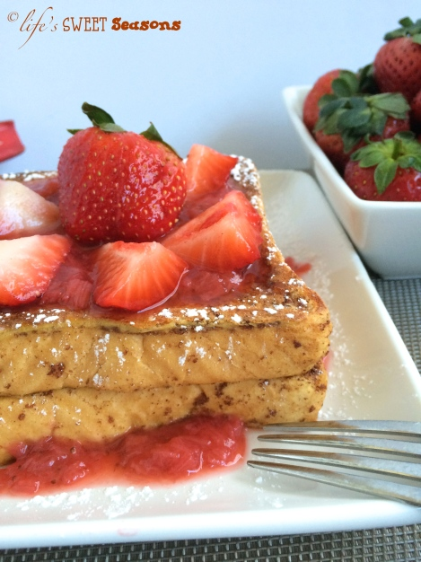 Strawberry Rhubarb French Toast 2