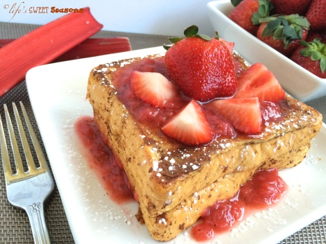Strawberry Rhubarb French Toast 3
