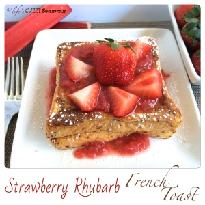 Strawberry Rhubarb French Toast 4
