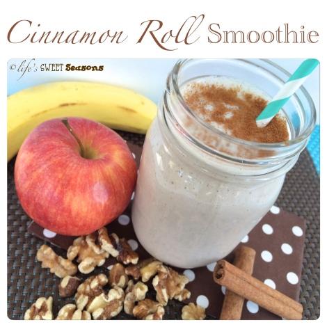 Cinnamon Roll Smoothie 1