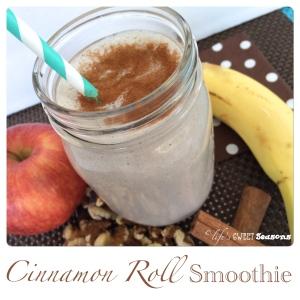 Cinnamon Roll Smoothie 3