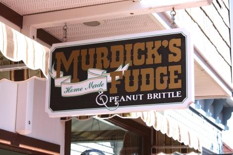 Murdick's Fudge Sign