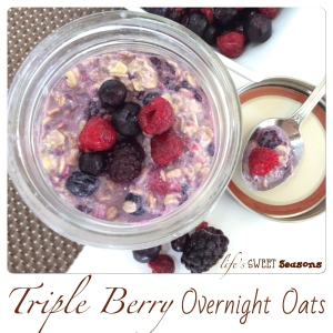 Triple Berry Overnight Oats 2