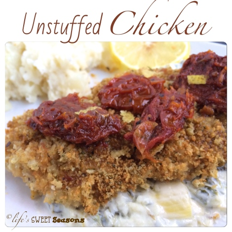 Unstuffed Chicken 1