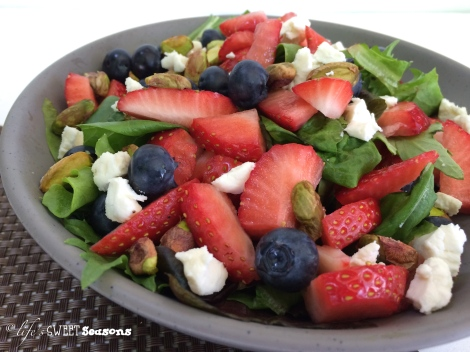 Berry & Pistachio Salad 2