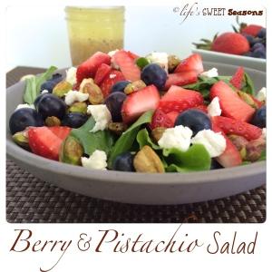 Berry & Pistachio Salad 4
