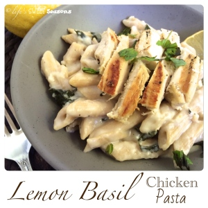 Lemon Basil Chicken Pasta 3