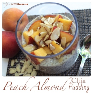 Peach Almond Chia Pudding 3
