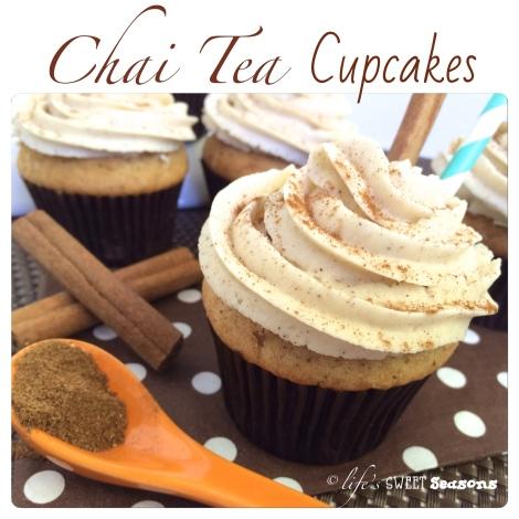Chai Tea Cupcakes 1