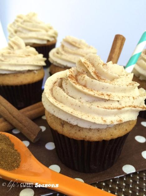 Chai Tea Cupcakes 3